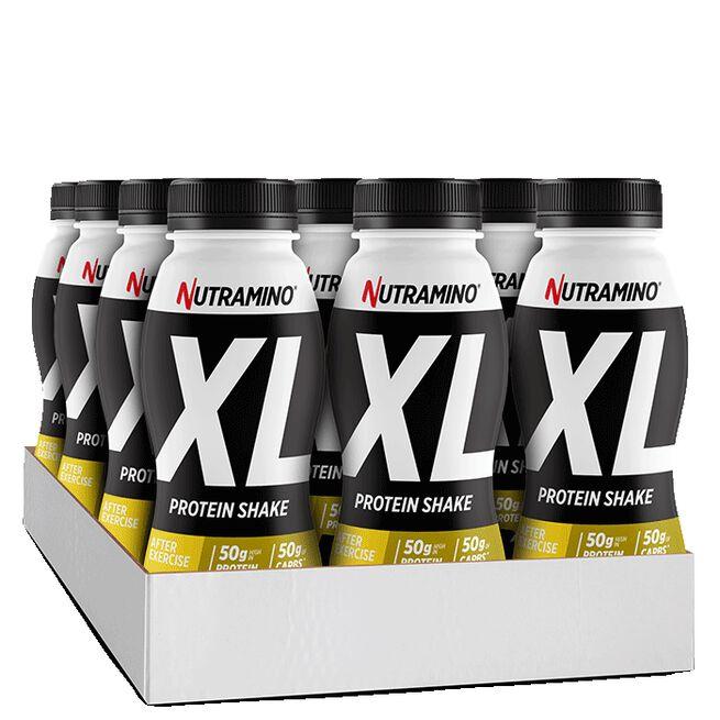 12 x Nutramino Pro XL ProteinShake, 500 ml, Choklad Banan