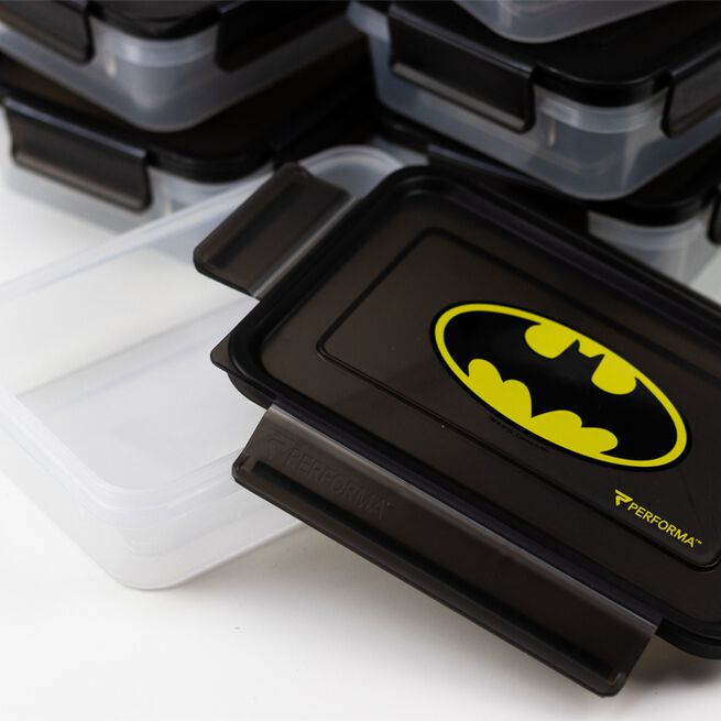 Perfect Meal Prep Bag Batman, 6 containers